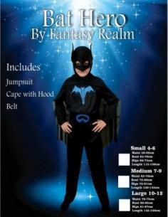 Costume Child Batman 10-12