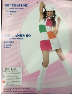 Costume Adult 60's Mod Dress
