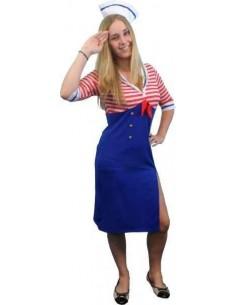 Costume Adult Sailor Girl XL