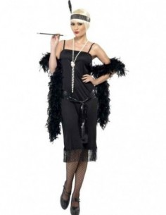 Costume Adult Flapper Black...