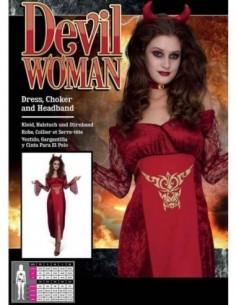 Costume Adult Devil Woman M