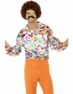 Costume Adult 60's Shirt...