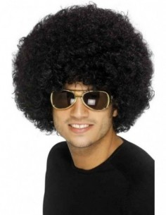 Wig Afro Funky Black