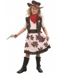 Costume Child Cowgirl Dress