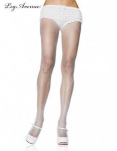 Fishnet White Panty Hose