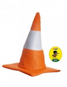 Hat Traffic Cone Orange
