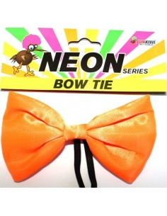 Bow Tie Neon Orange
