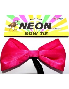 Bow Tie Neon Pink