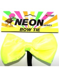 Bow Tie Neon Yellow