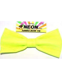 Bow Tie Jumbo Neon Green