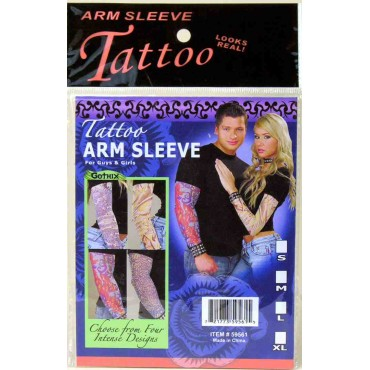 Tattoo Sleeve Gothic Asst