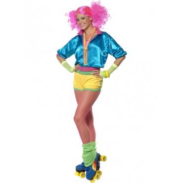 Costume Adult 80's Skater...