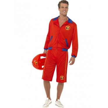 Costume Adult Baywatch Red...