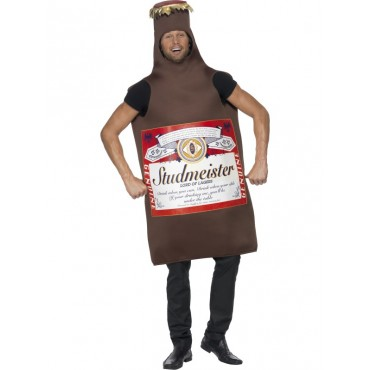 Costume Adult Beer Bottle