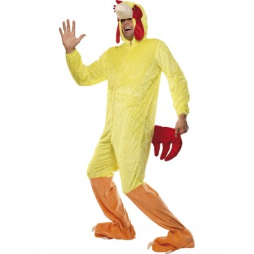 Costume Adult Chicken Man M