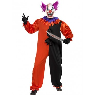 Costume Adult Clown Scary...