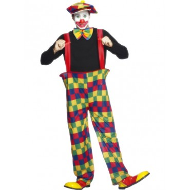 Costume Adult Clown Long...