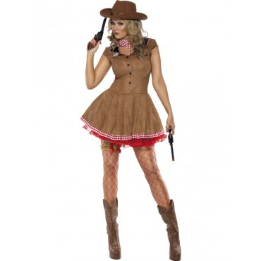 Costume Adult Cowgirl Wild...