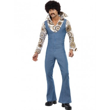 Costume Adult Disco Groovy...