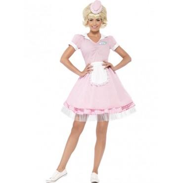 Costume Adult Diner Girl...