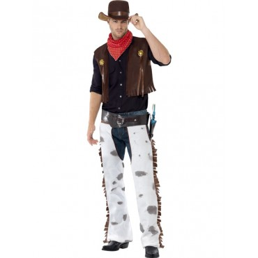 Costume Adult Cowboy White...