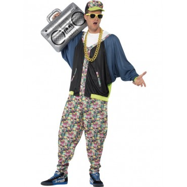Costume Adult 80's Hip Hop...
