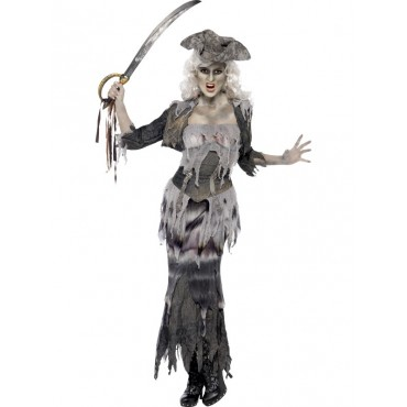 Costume Adult Ghost Pirate...