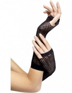 Gloves Fingerless Fishnets...