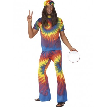 Costume Adult Hippie Tye...