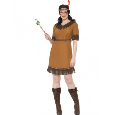 Costume Adult Indian Maiden L