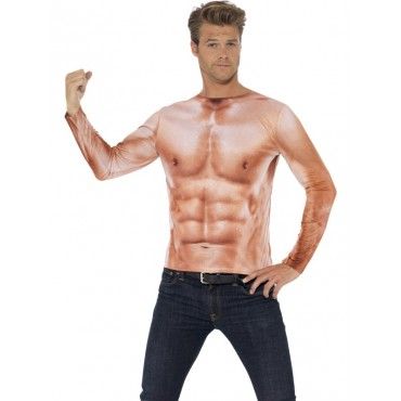 Costume Adult Muscle Man...