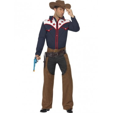 Costume Adult Rodeo Cowboy M