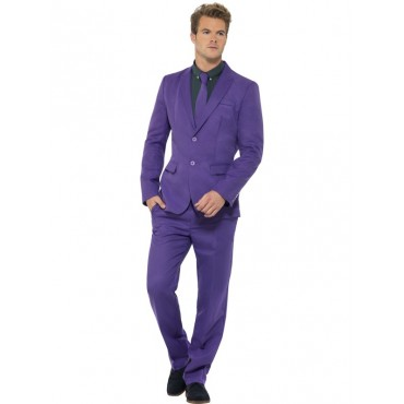 Costume Adult Suit Purple L