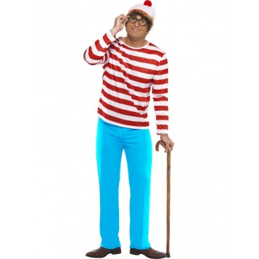 Costume Adult Where's Wally...