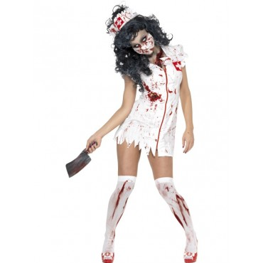 Costume Adult Zombie Nurse L