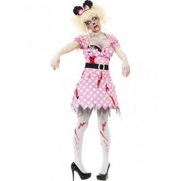 Costume Adult Zombie Minnie...