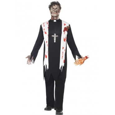Costume Adult Zombie Priest...