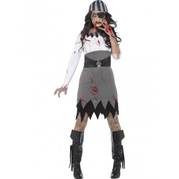 Costume Adult Zombie Pirate...