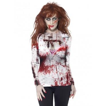 Costume Adult Zombie Shirt...